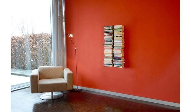 Radius - Booksbaum dubbel boekenwandrek - Hoogte 90 cm - zwart - 2