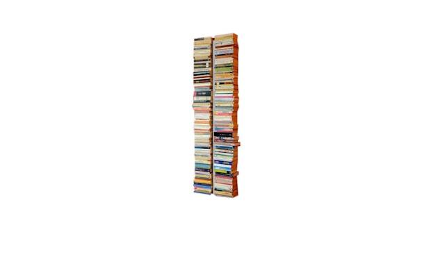 Radius - Booksbaum Bücherwandregal 2-reihig - groß - weiß - 1