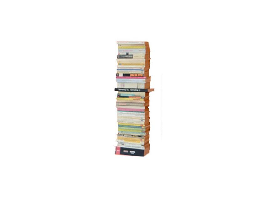 Radius - Booksbaum enkel boekenwandrek - zwart - Hoogte 90 cm - 1