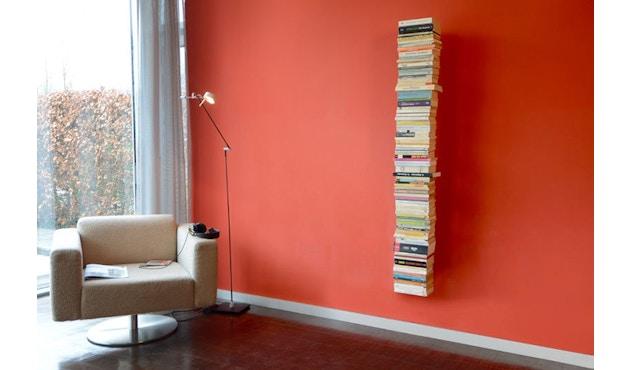 Radius - Booksbaum Bücherwandregal 1-reihig - groß - schwarz - 2