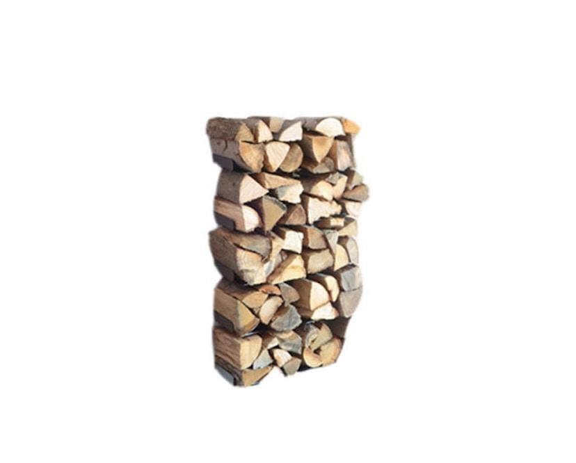 Radius - Wooden Tree Kaminholzwandregal - S - 1