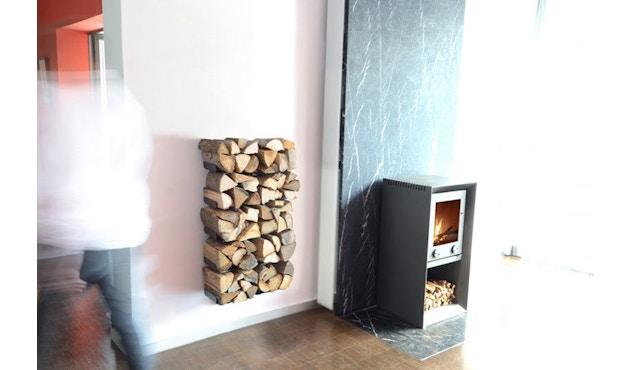 Radius - Wooden Tree Kaminholzwandregal - S - 2