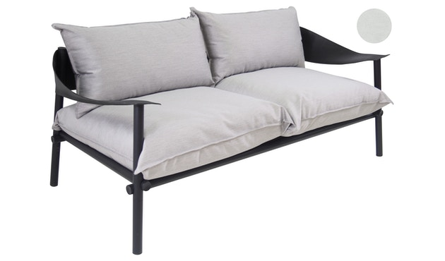 Emu - Terramare Sitz- und Rückenkissen - weiß - 1