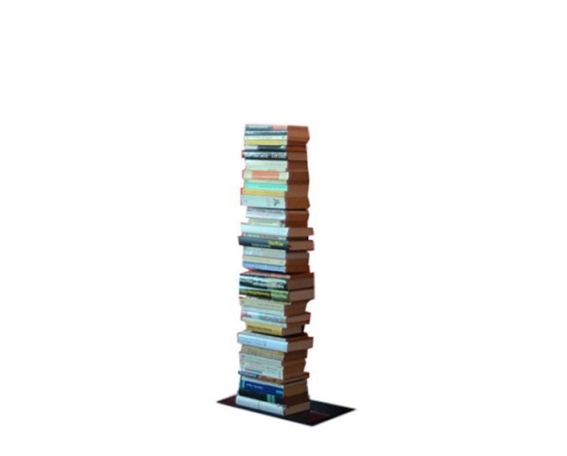 Radius - Booksbaum enkel boekenrek - Hoogte 90,5 cm - zwart - 1
