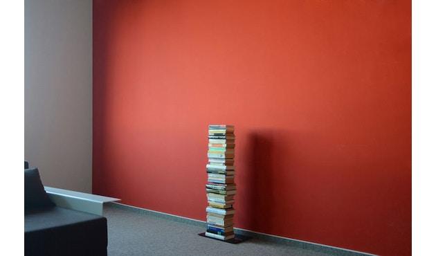 Radius - Booksbaum enkel boekenrek - Hoogte 90,5 cm - zwart - 2