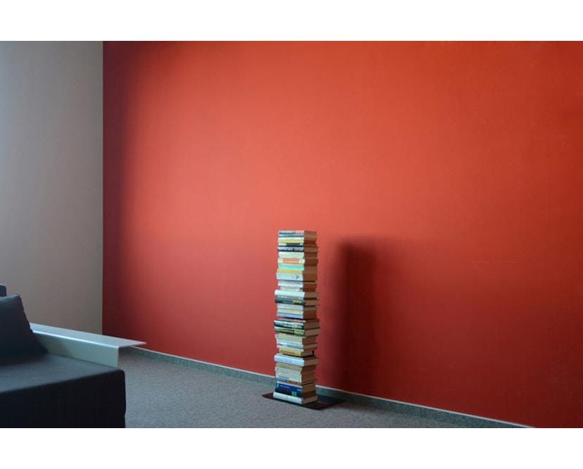 Radius - Booksbaum Bücherregal 1-reihig - klein - schwarz - 2