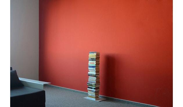 Radius - Booksbaum Bücherregal 1-reihig - klein - weiß - 2