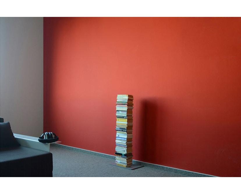 Radius - Booksbaum Bücherregal 1-reihig - klein - silber - 2