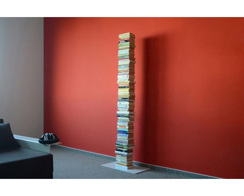 Radius - Booksbaum Bücherregal 1-reihig - groß - weiß - 2