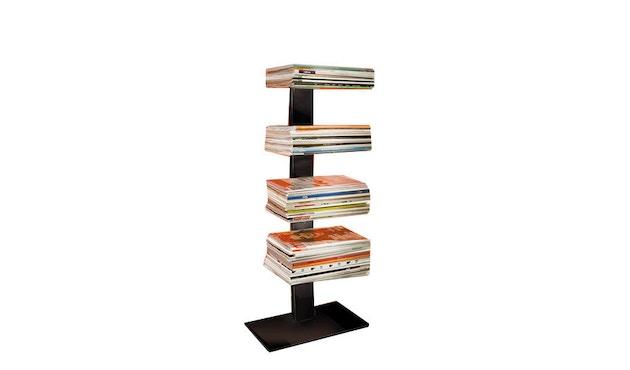 Radius - Booksbaum Magazin Regal - schwarz - 1