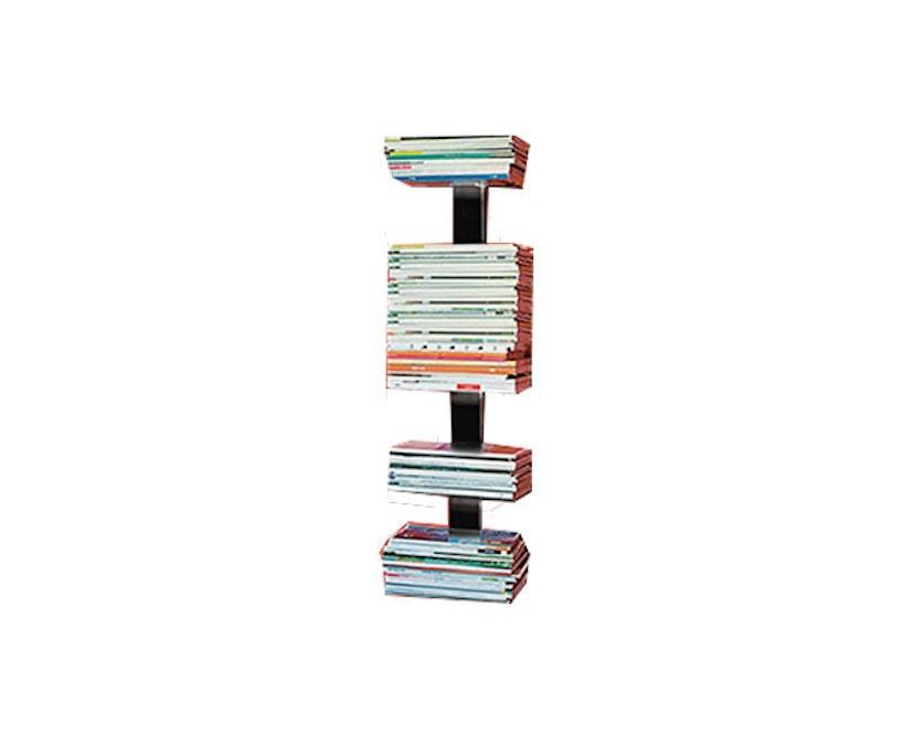 Radius - Booksbaum Magazin Wandregal - S - schwarz - 1