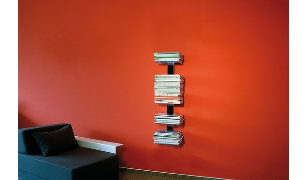 Radius - Booksbaum Magazin Regal - silber - 4