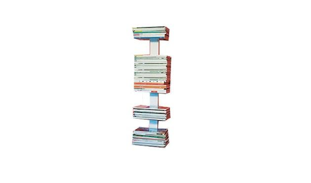 Radius - Booksbaum Magazin Wandregal - S - weiß - 2