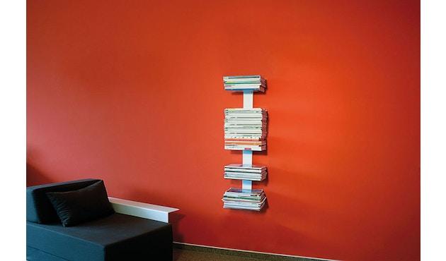 Radius - Booksbaum Magazin Wandregal - S - weiß - 3