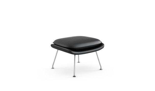 Knoll International - Saarinen Womb Ottoman - Relax Daunen - Volo schwarz - 0