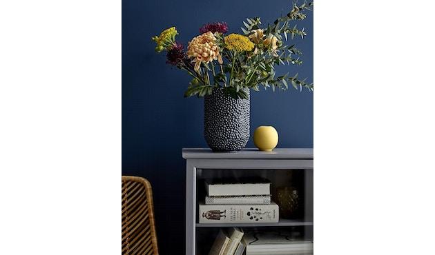 Bloomingville - Vase, Blau, Steinzeug - 1