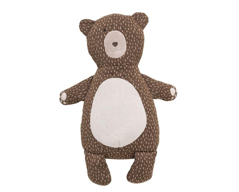 Bloomingville - Teddybär, Braun, Baumwolle - 0