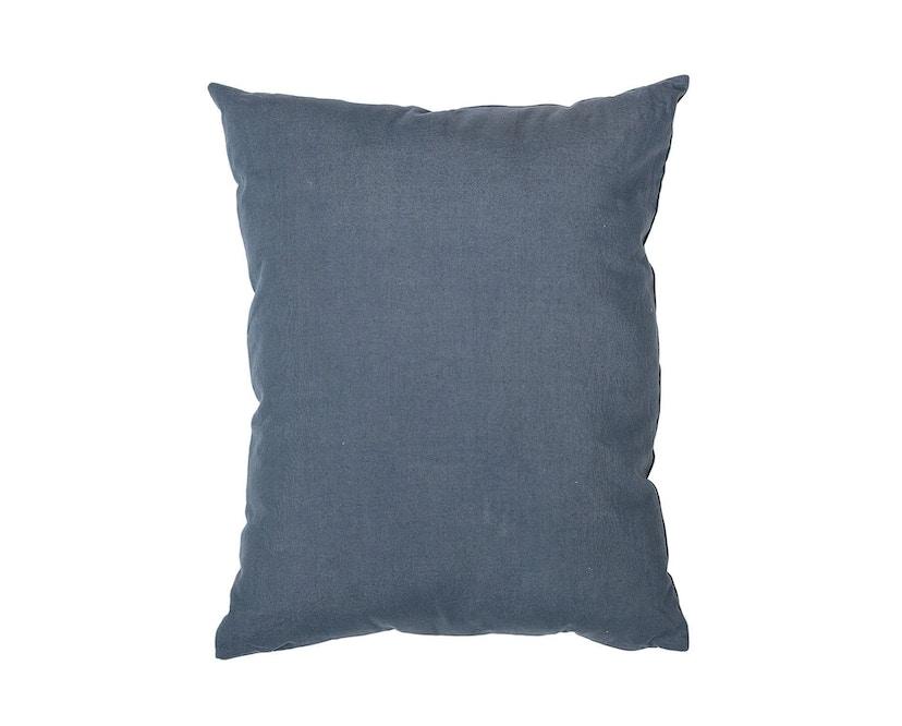 Bloomingville - Kissen - Bärenmotiv, Blau, Baumwolle - 1