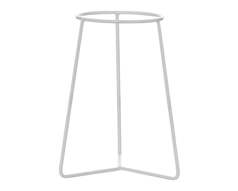 Bloomingville - Ständer für Blumentopf, Weiß, Metall - 0