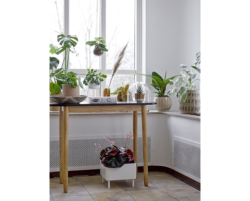 Bloomingville - Ständer für Blumentopf, Weiß, Metall - 1