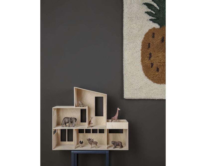 ferm LIVING - Miniatur Funkis Haus groß - 4