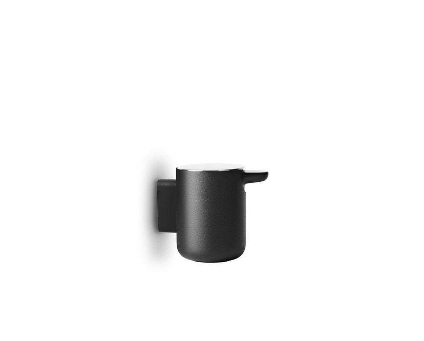 Menu - Seifenspender Wand - schwarz - 1