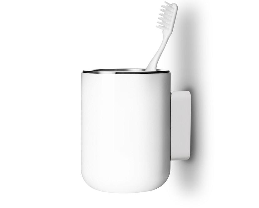 Menu - Zahnbürstenhalter Wand - weiß - 2