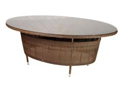 San Marino Tisch oval