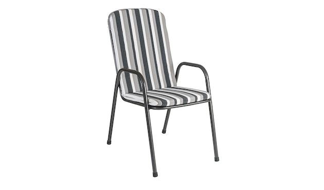 Alexander Rose - Portofino Sitzkissen für Stapelsessel - Charcoal - 2