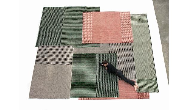 Nanimarquina - Blur Läufer - schwarz - 75 x 400 cm - 3