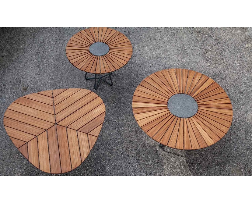 Houe - Table Circle Aluminium - Ø 110 cm - 3