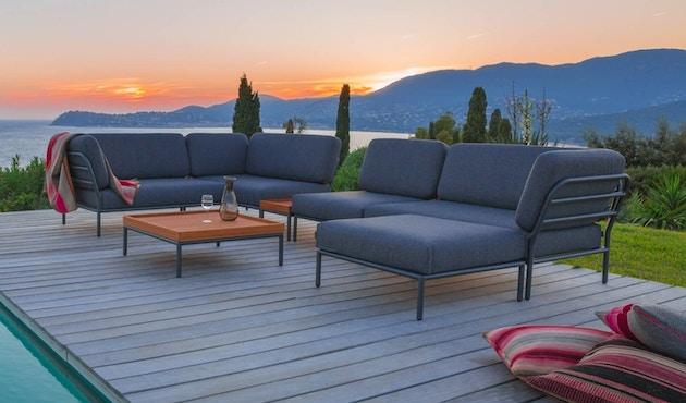 Houe - Level Lounge Stuhl - grau - 3