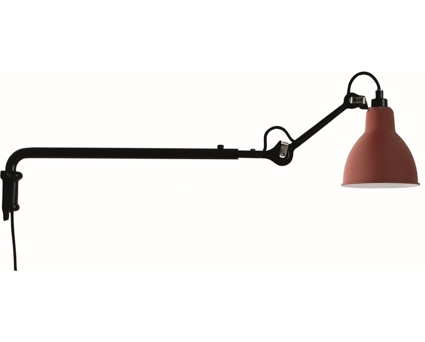 DCW éditions - LAMPE GRAS N°203 Wandleuchte  - rot - rund - 1