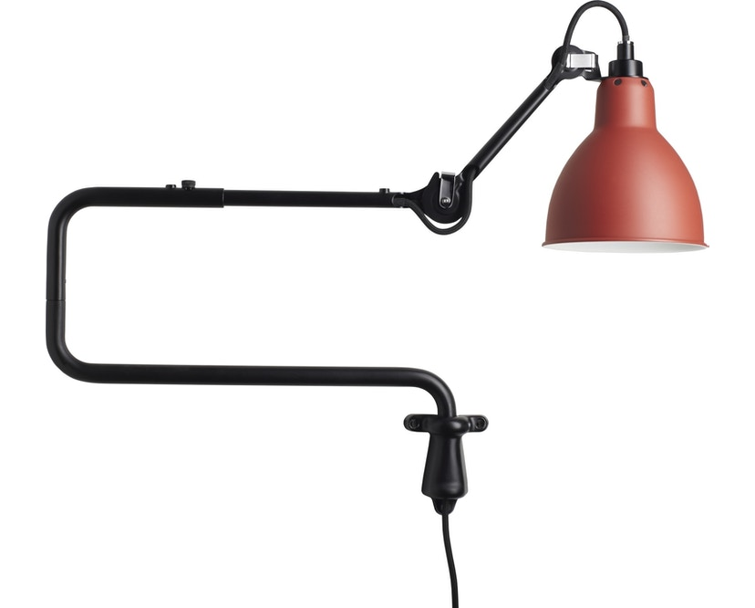DCW éditions - LAMPE GRAS N°303 Wandleuchte - rot - rund - 1