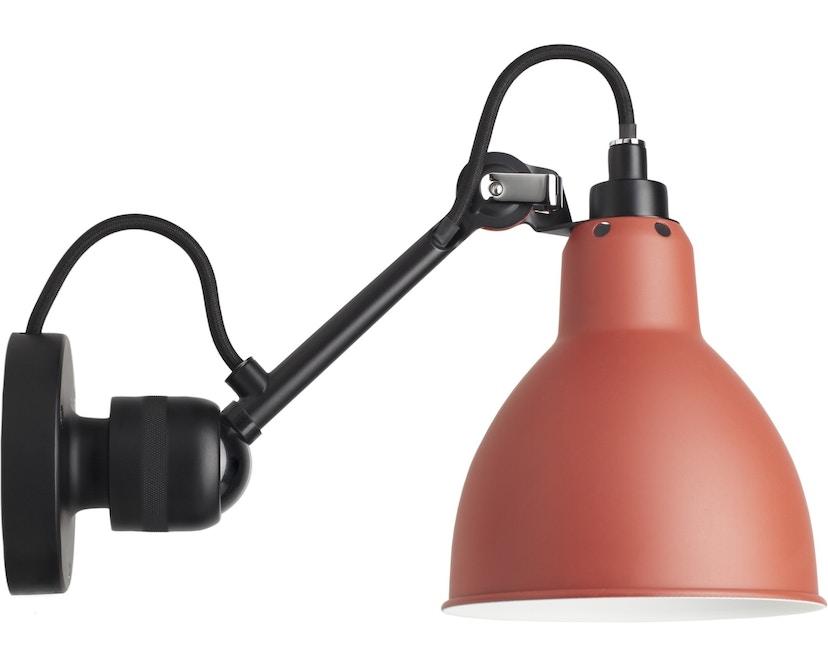 DCW éditions - LAMPE GRAS N°304 Wandleuchte schwarz - rot - rund - 1
