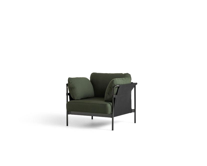 HAY - Can 2.0 Sessel - Aussenbespannung schwarz - Gestell schwarz - Steelcut 975 - 1