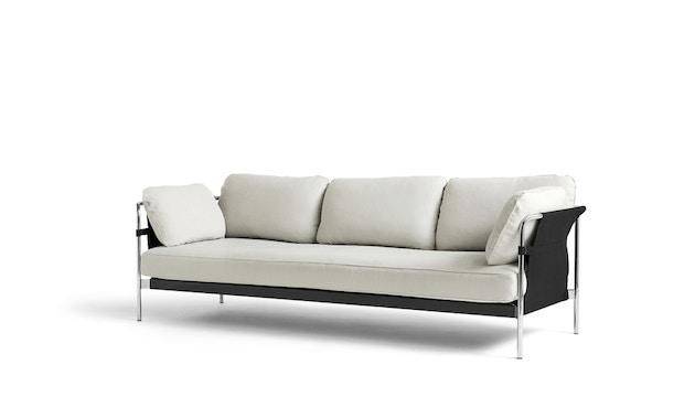 HAY - Can 2.0 3-Sitzer Sofa - Aussenbespannung schwarz - KvadratLinara311 - 1