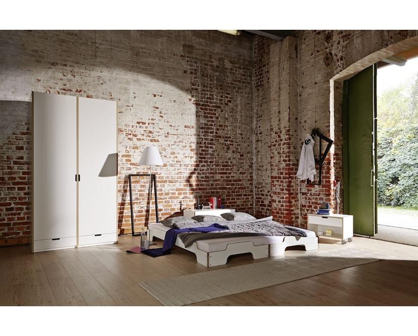 Müller Möbelwerkstätten - Stapelbed Comfort - 90 x 190 cm - Beuk natuur, gelakt - 8