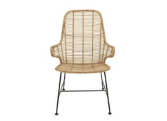Bloomingville - Lake Lounge Chair, Natur, Rattan - 0