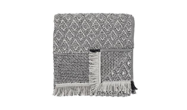 Bloomingville - Handtuch - Baumwolle - schwarz/weiß - Muster Typ 1 - L100xW50 cm - 0