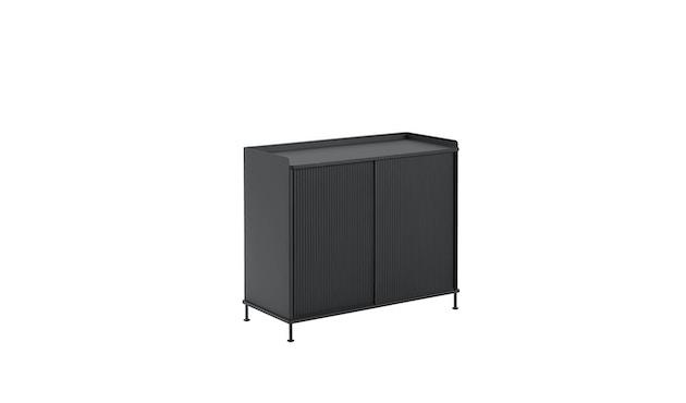 Muuto - Enfold Sideboard Tall - black/black - 1