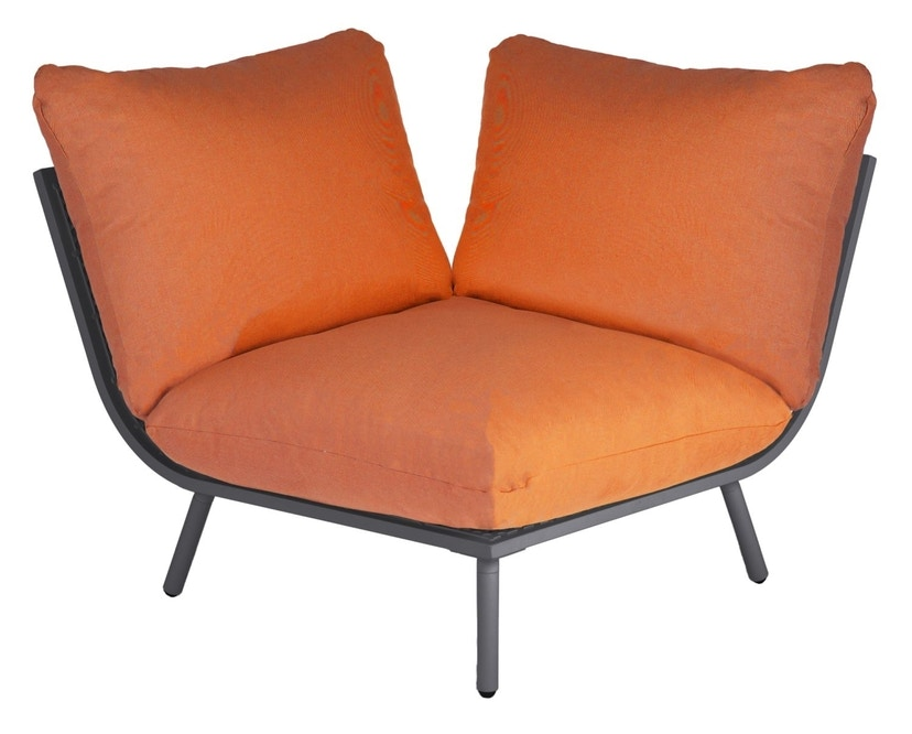 Alexander Rose - Beach Lounge Eckelement - orange - Flint - 0