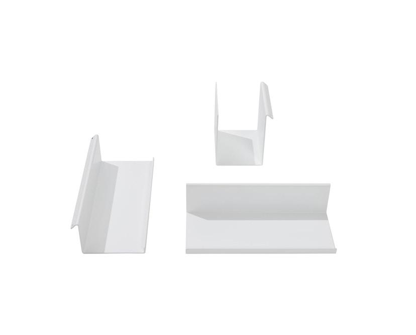Müller Möbelwerkstätten - FLATBOX Sekretär - weiß - LED Leuchte und Steckdose - 14