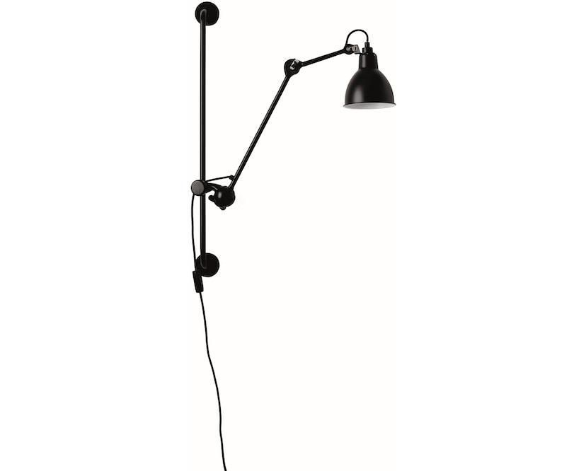 DCW éditions - LAMPE GRAS N°210 Wandleuchte - schwarz - rund - 1