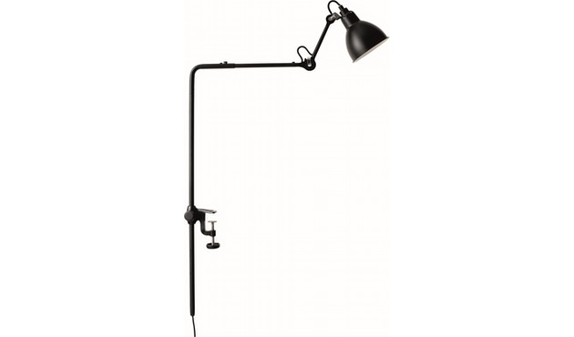 DCW éditions - LAMPE GRAS N°226 klemlamp - zwart - rond - 1