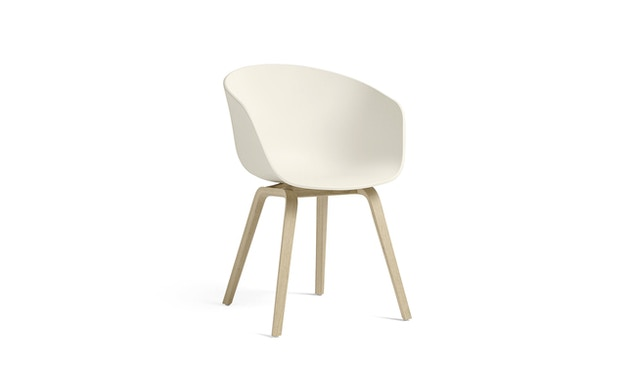 HAY - About a Chair AAC 22 - Eik mat gelakt - crèmewit - 1