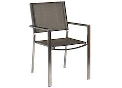 Chaise Cologne avec tissu d'extérieur 3