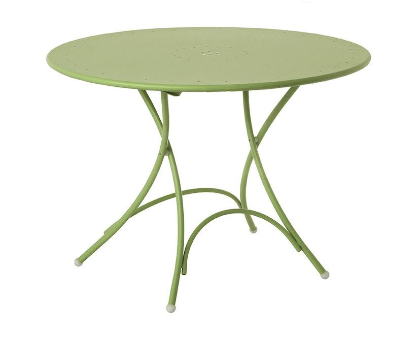 Emu - Pigalle Klapptisch - rund - grün matt - 1