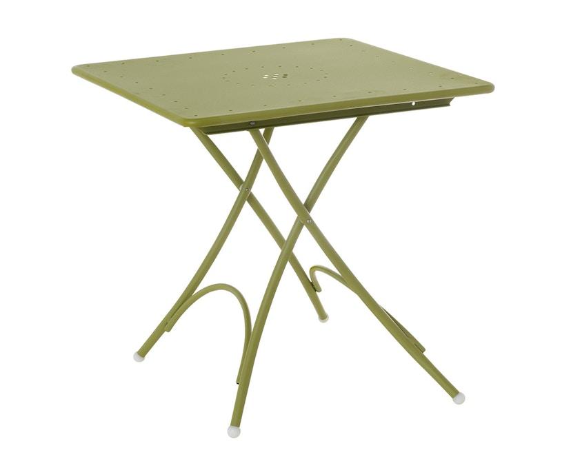 Emu - Table pliante petite Pigalle - vert - 1