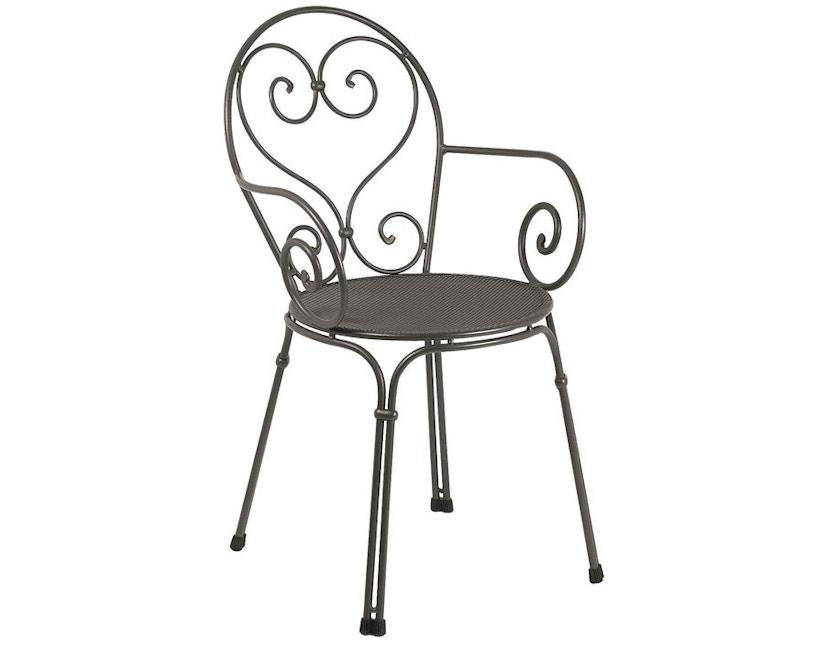 Emu - Pigalle Armlehnstuhl - antikeisen - 1